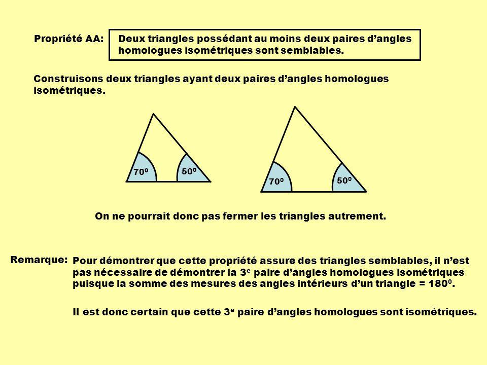 On ne pourrait donc pas fermer les triangles autrement.