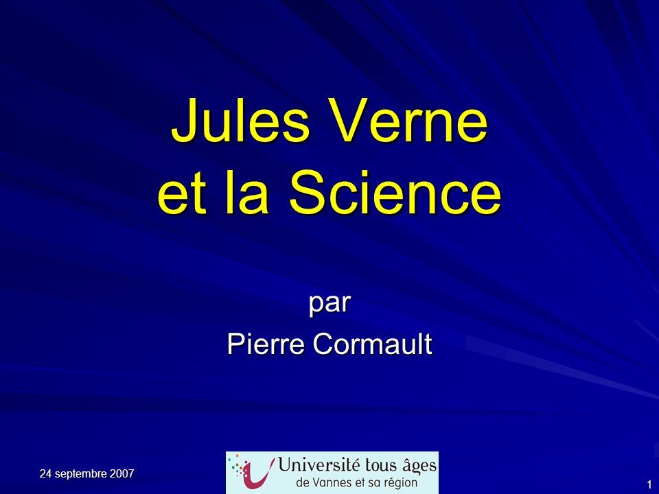 Jules Verne et la Science