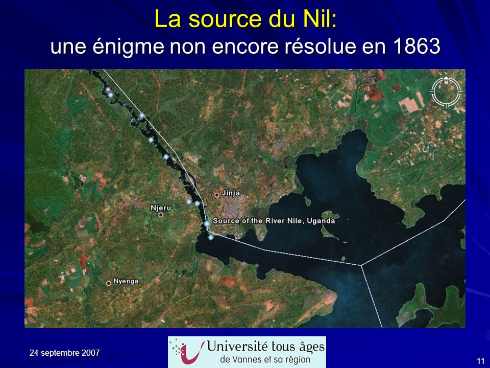 La source du Nil: une énigme non encore résolue en 1863