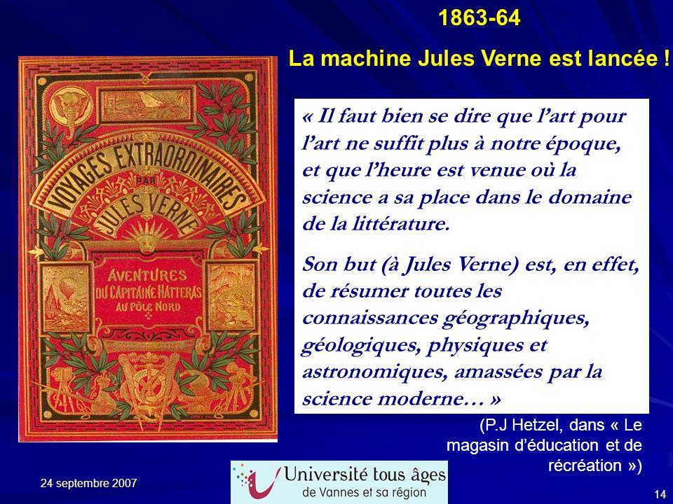 La machine Jules Verne est lancée !