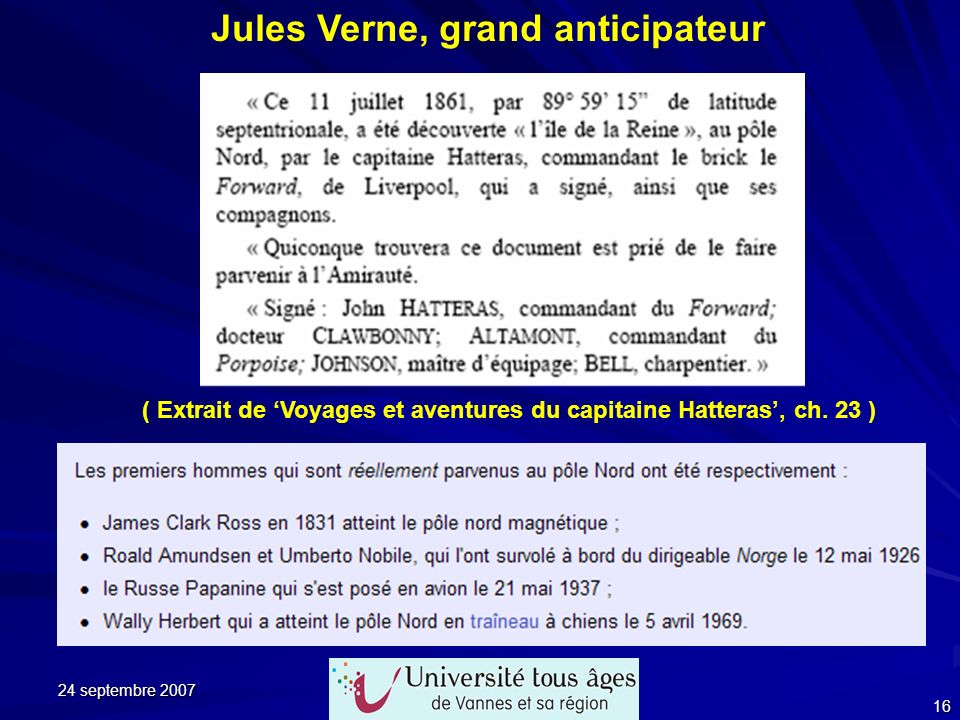 Jules Verne, grand anticipateur