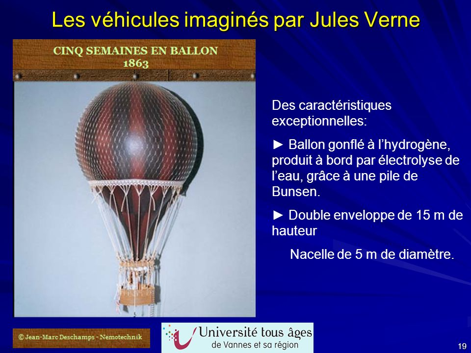 Les véhicules imaginés par Jules Verne
