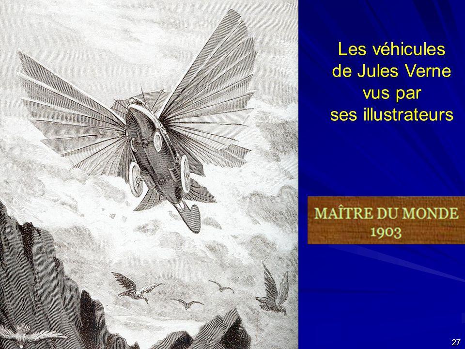 Les véhicules de Jules Verne vus par ses illustrateurs