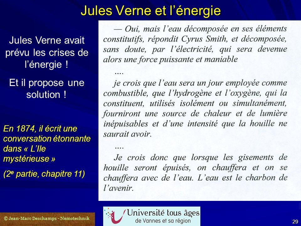 Jules Verne et l'énergie