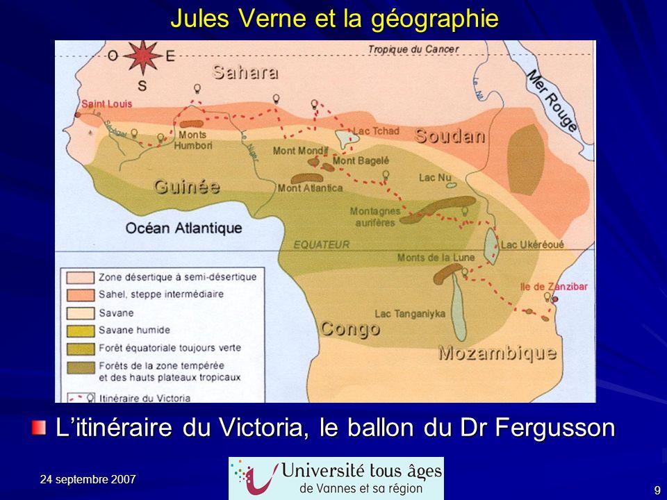 Jules Verne et la géographie