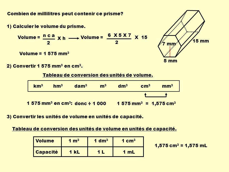 Combien de millilitres peut contenir ce prisme