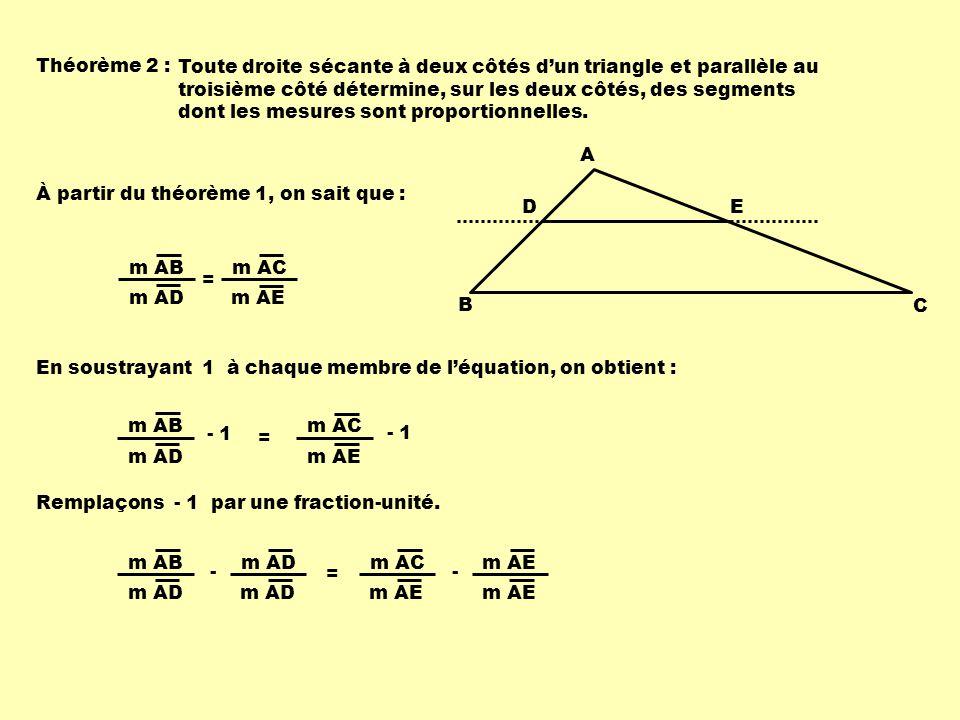 Théorème 2 :