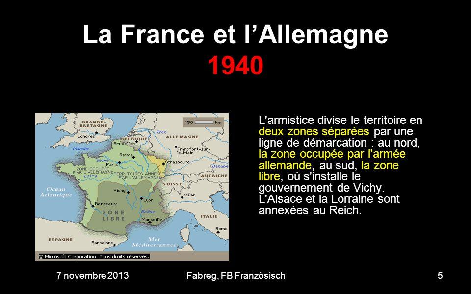 La France et l'Allemagne 1940