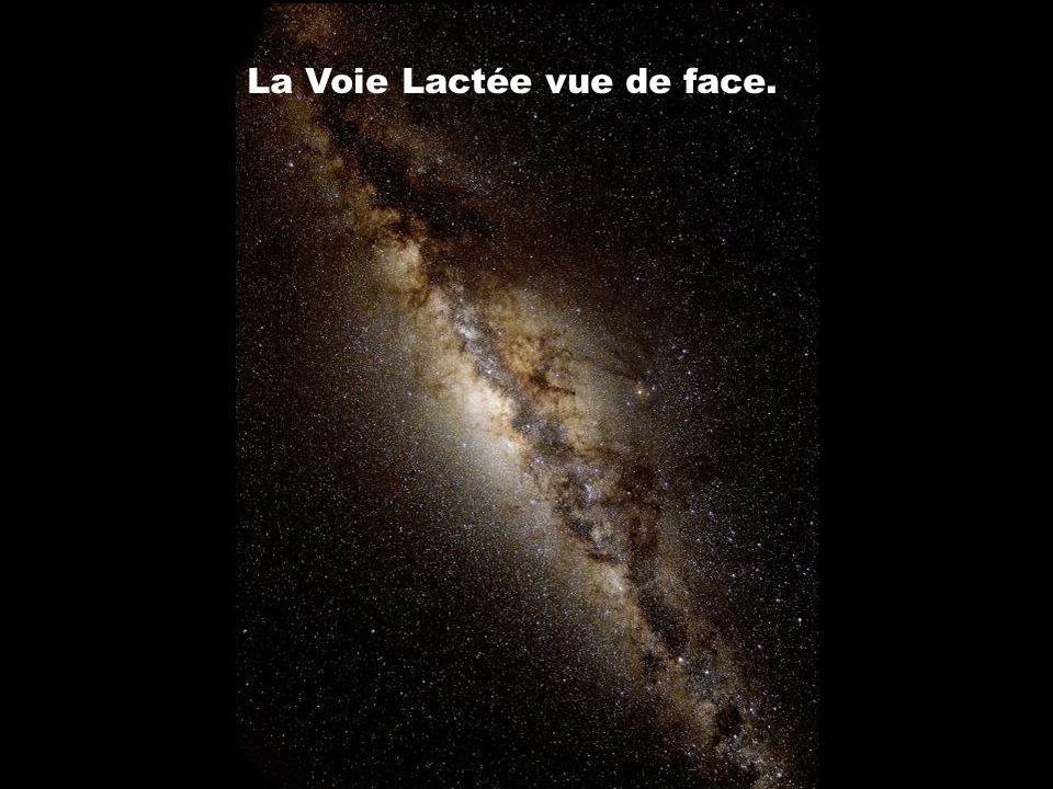 La Voie Lactée vue de face.