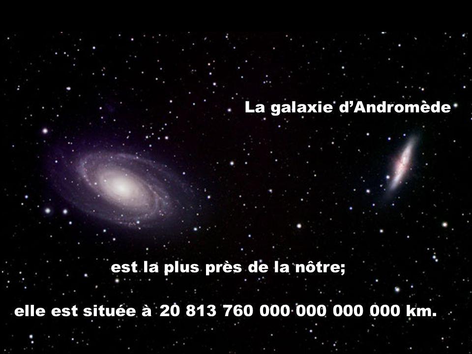 La galaxie d'Andromède