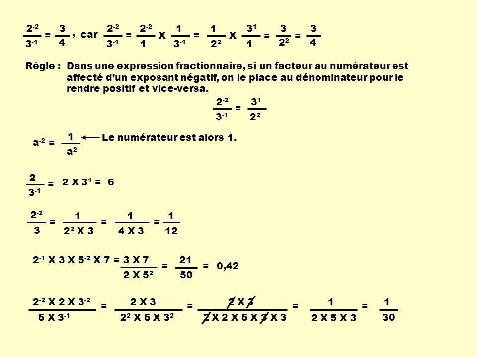 2-2 3-1. = 3. 4. , 2-2. 3-1. = 2-2. 1. X. 3-1. = 1. 22. X. 31. = 3. 22. = 3. 4.