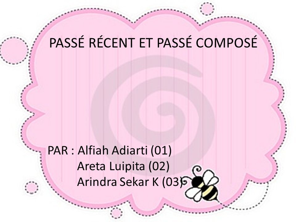 PAR : Alfiah Adiarti (01) Areta Luipita (02) Arindra Sekar K (03)