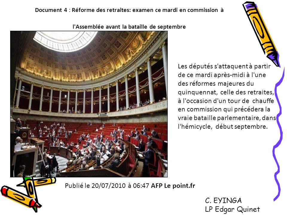 Publié le 20/07/2010 à 06:47 AFP Le point.fr