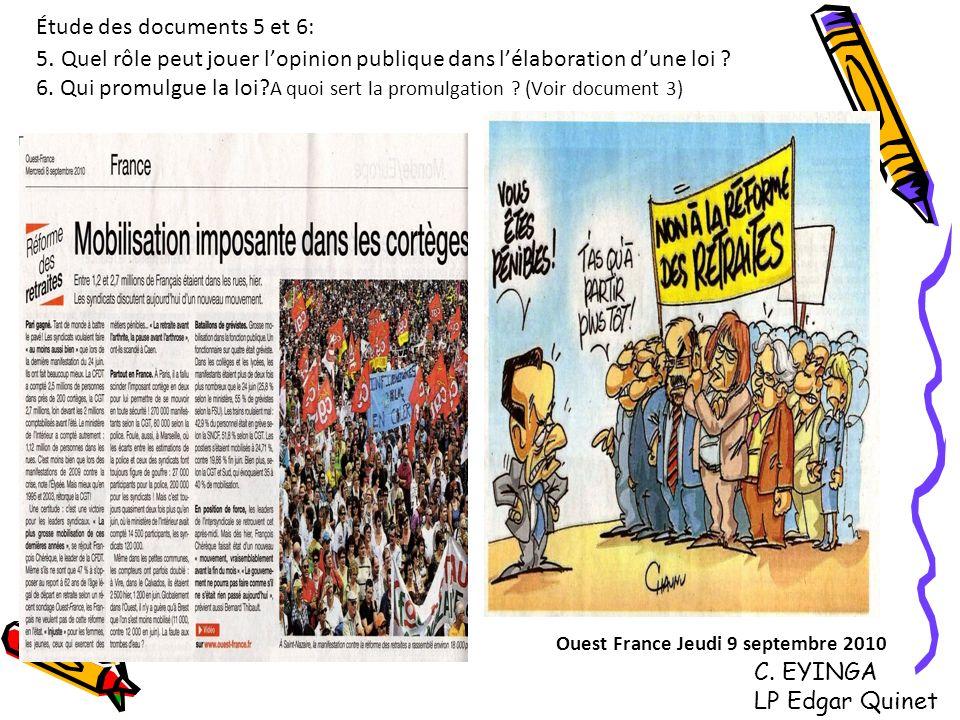 Ouest France Jeudi 9 septembre 2010