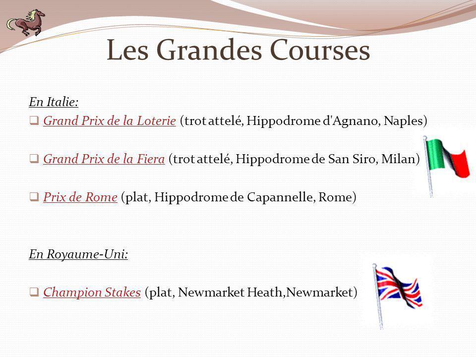 Les Grandes Courses En Italie: