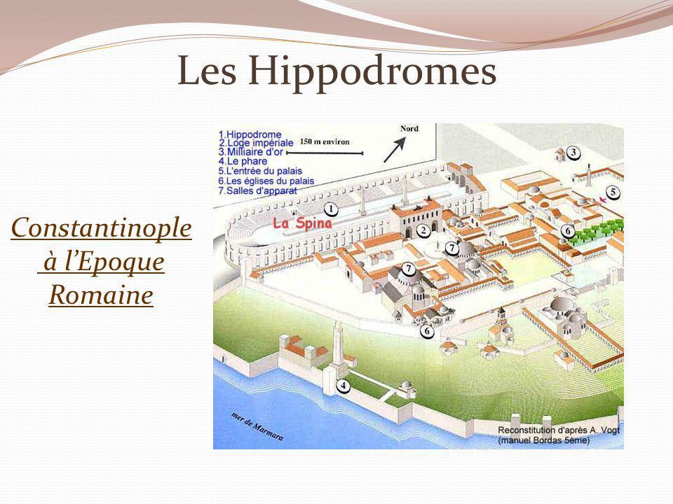 Les Hippodromes Constantinople à l'Epoque Romaine