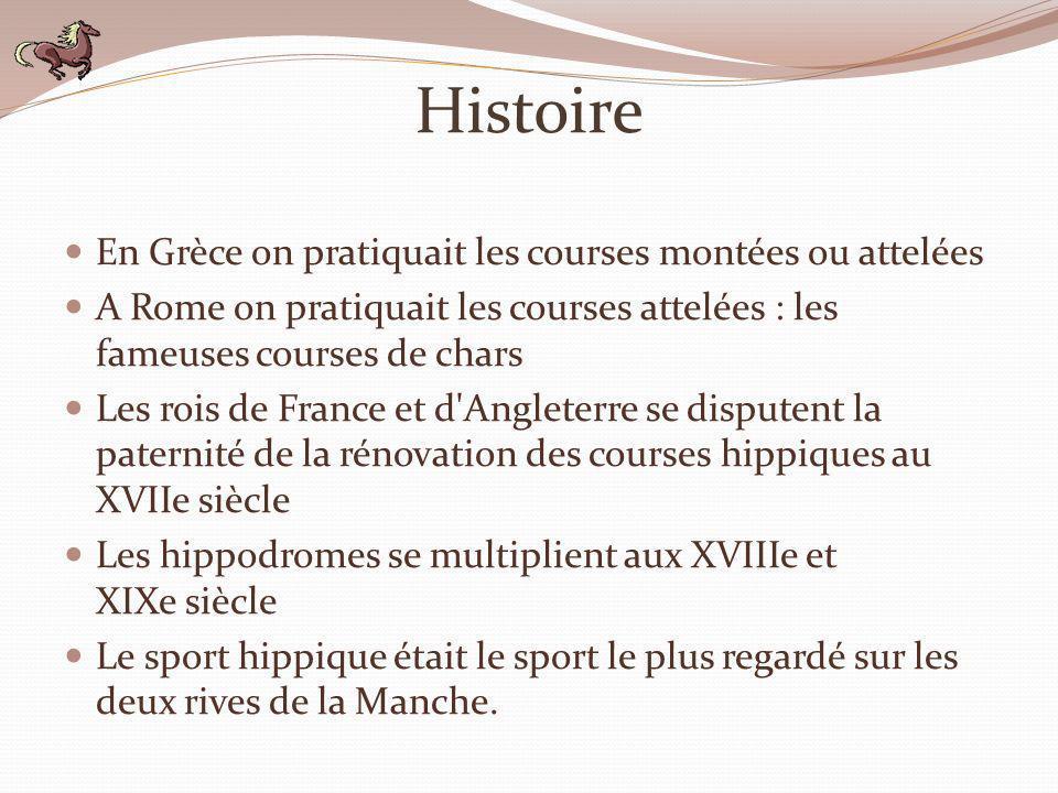 Histoire En Grèce on pratiquait les courses montées ou attelées