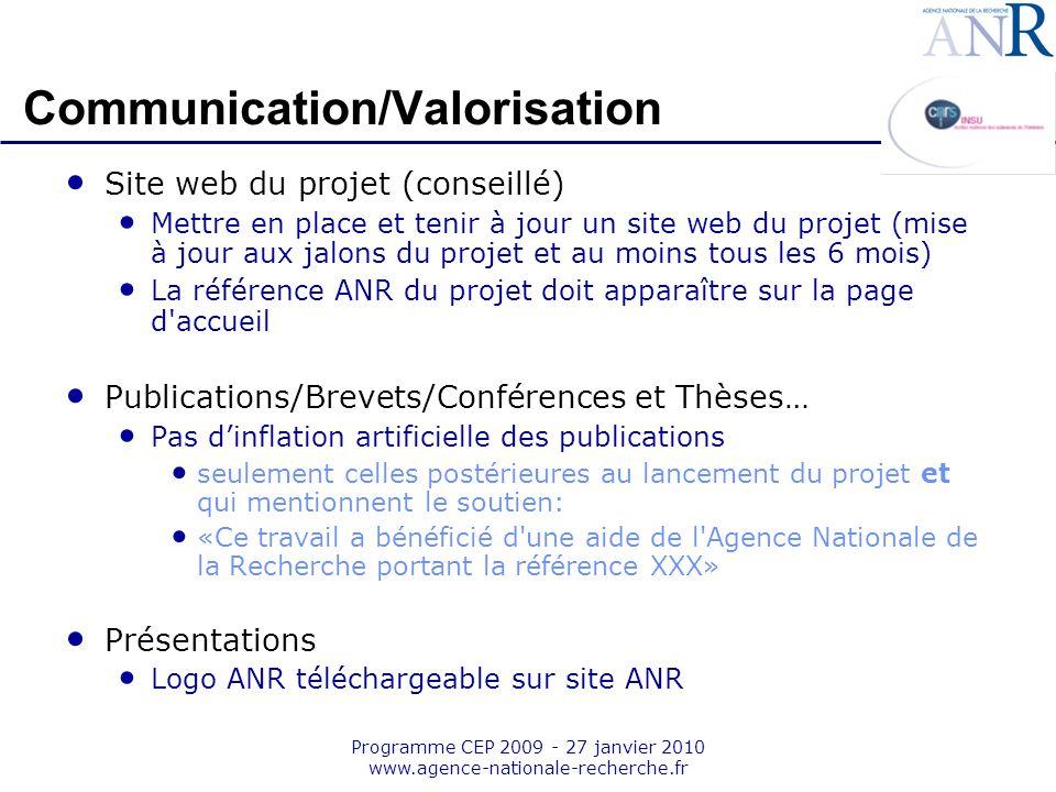 Communication/Valorisation