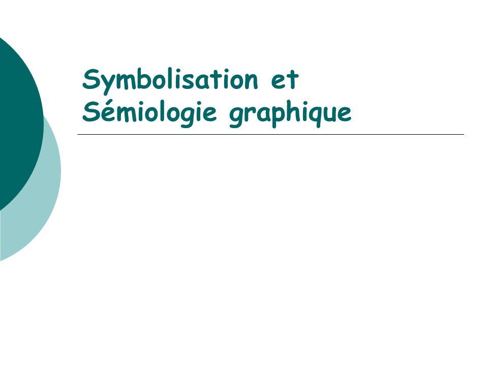 Symbolisation et Sémiologie graphique