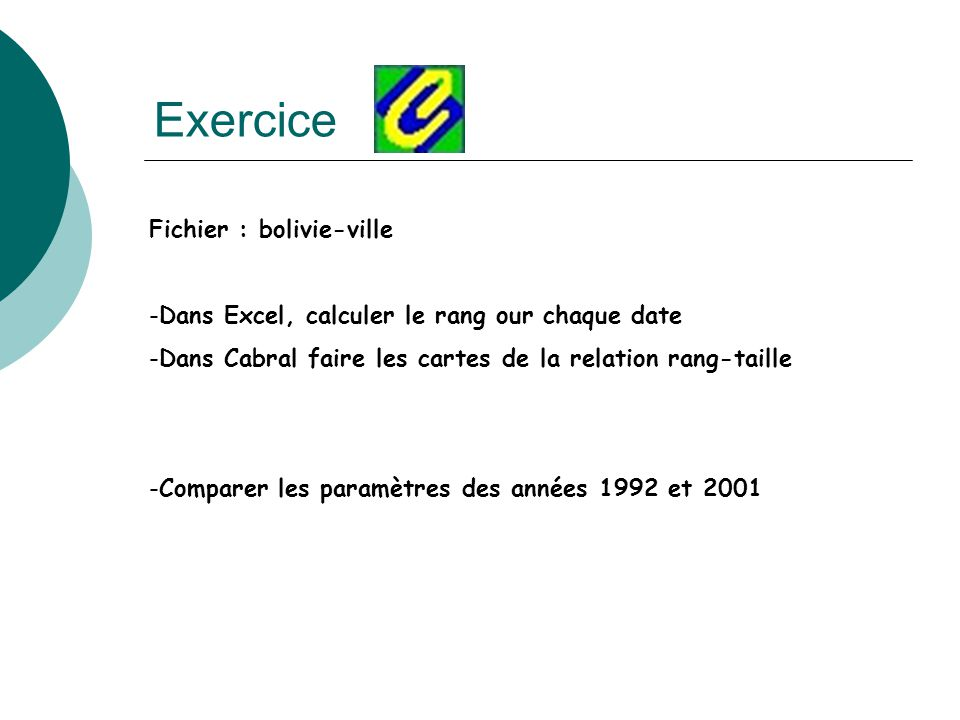 Exercice Fichier : bolivie-ville