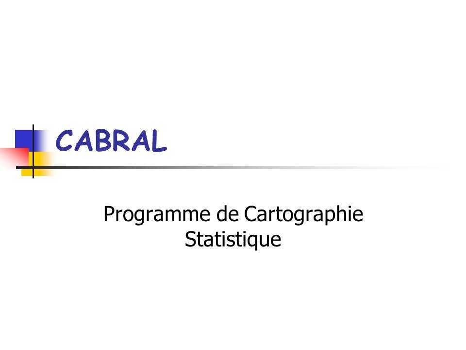 Programme de Cartographie Statistique