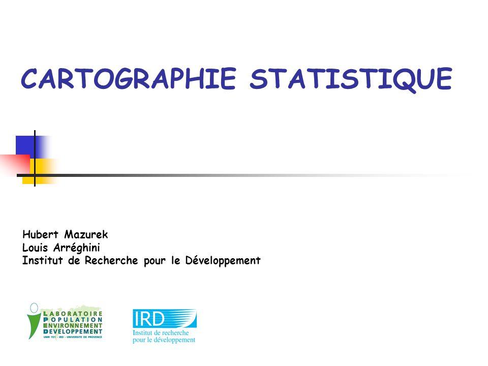 CARTOGRAPHIE STATISTIQUE