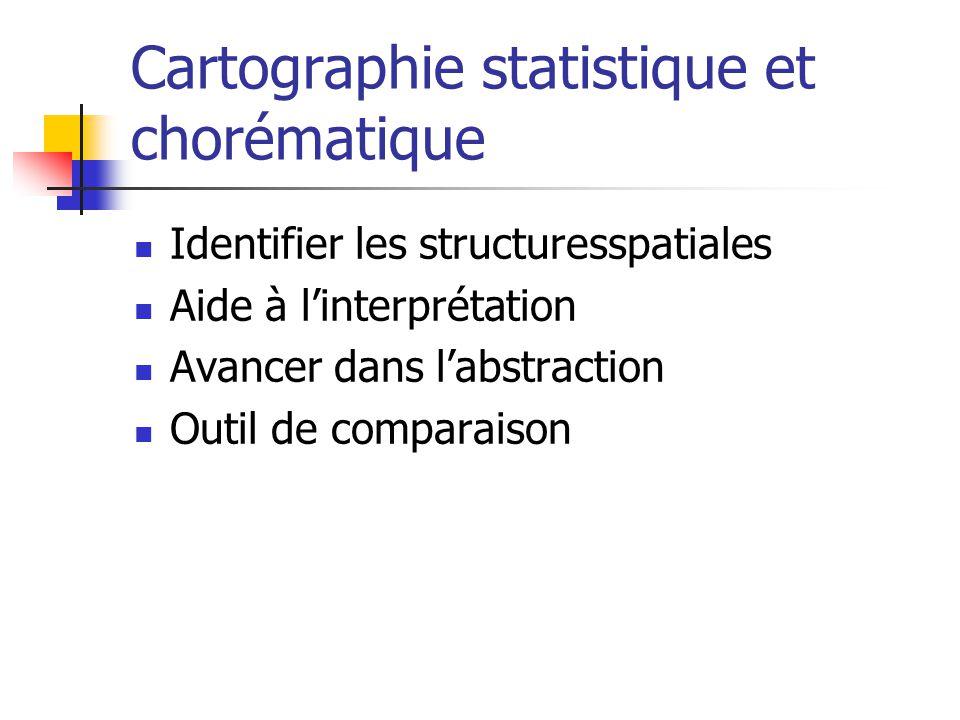 Cartographie statistique et chorématique