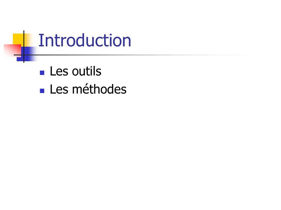 Introduction Les outils Les méthodes Cartografía