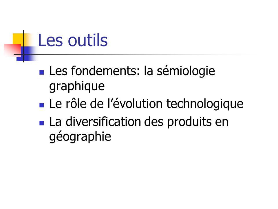Les outils Les fondements: la sémiologie graphique