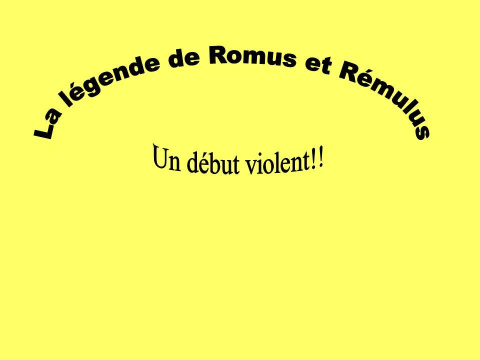 La légende de Romus et Rémulus