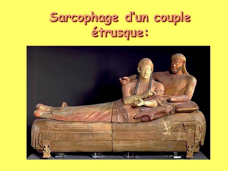 Sarcophage d'un couple étrusque: