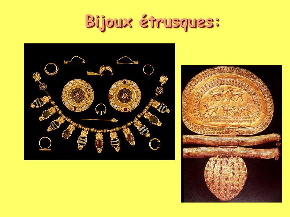 Bijoux étrusques: