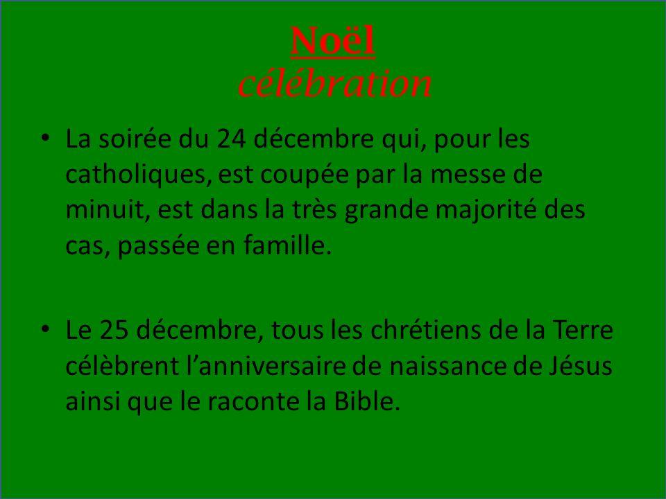 Noël célébration