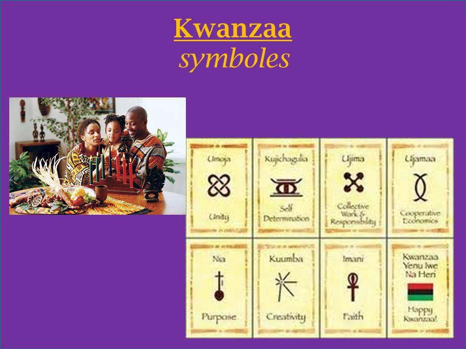 Kwanzaa symboles