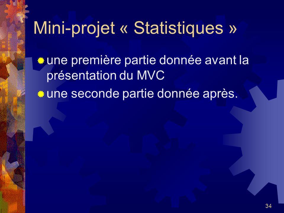 Mini-projet « Statistiques »