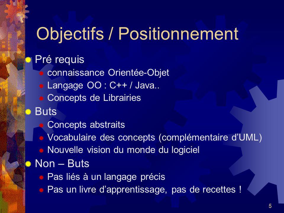 Objectifs / Positionnement