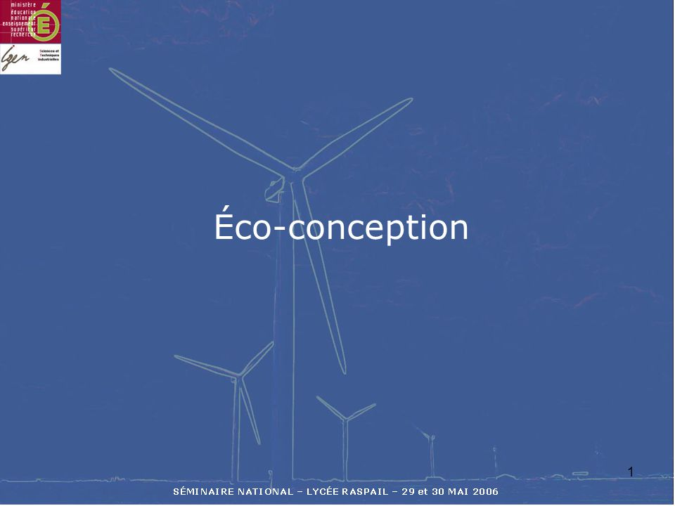 Éco-conception