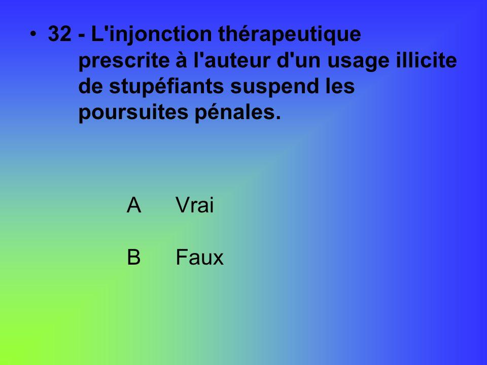 32 - L injonction thérapeutique