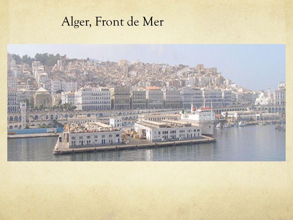 Alger, Front de Mer Alger, Front de Mer