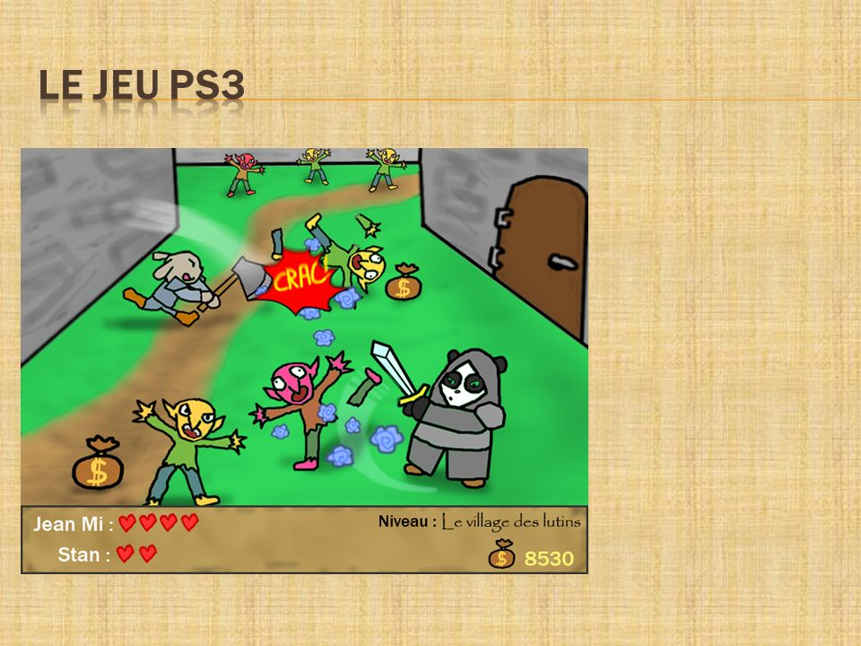 LE JEU PS3 -Graphismes colorés et mignons