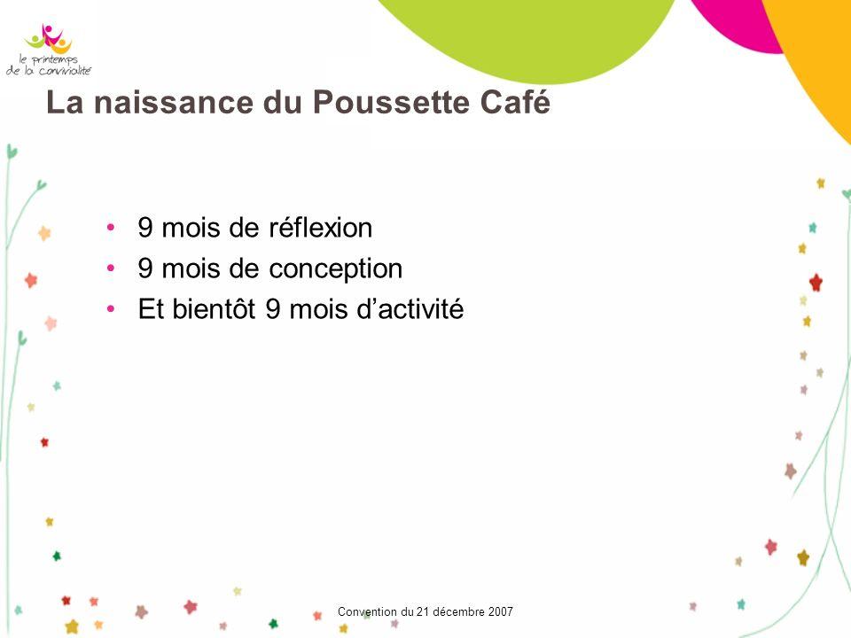 La naissance du Poussette Café