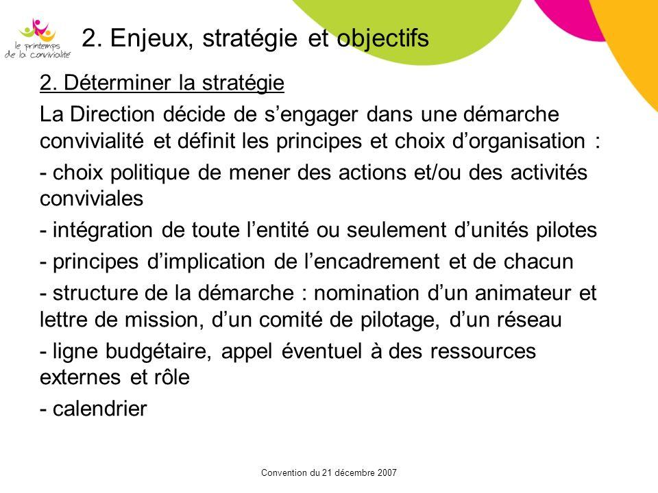 2. Enjeux, stratégie et objectifs