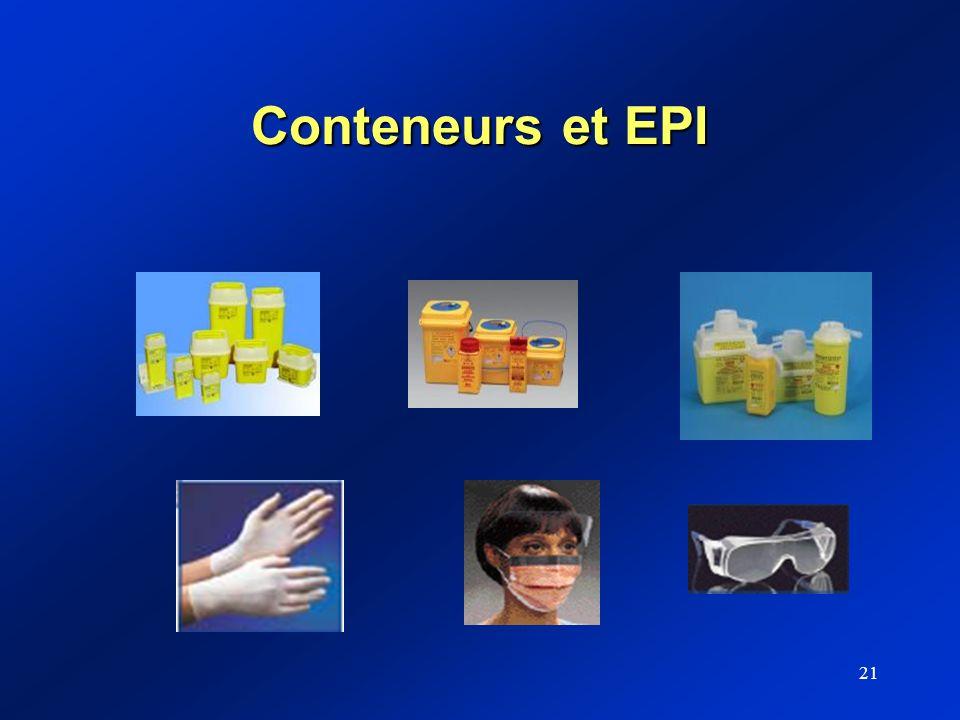 Conteneurs et EPI
