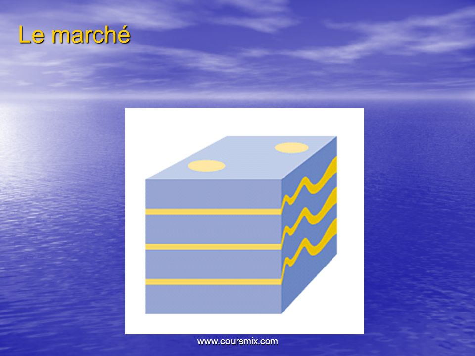 Le marché www.coursmix.com
