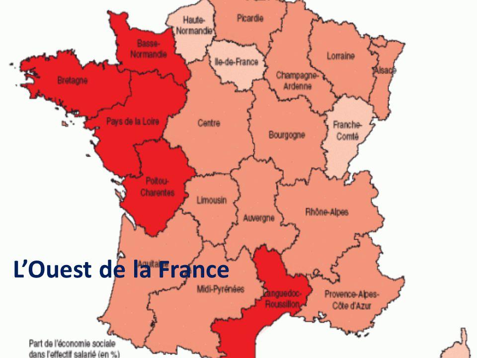 L'Ouest de la France