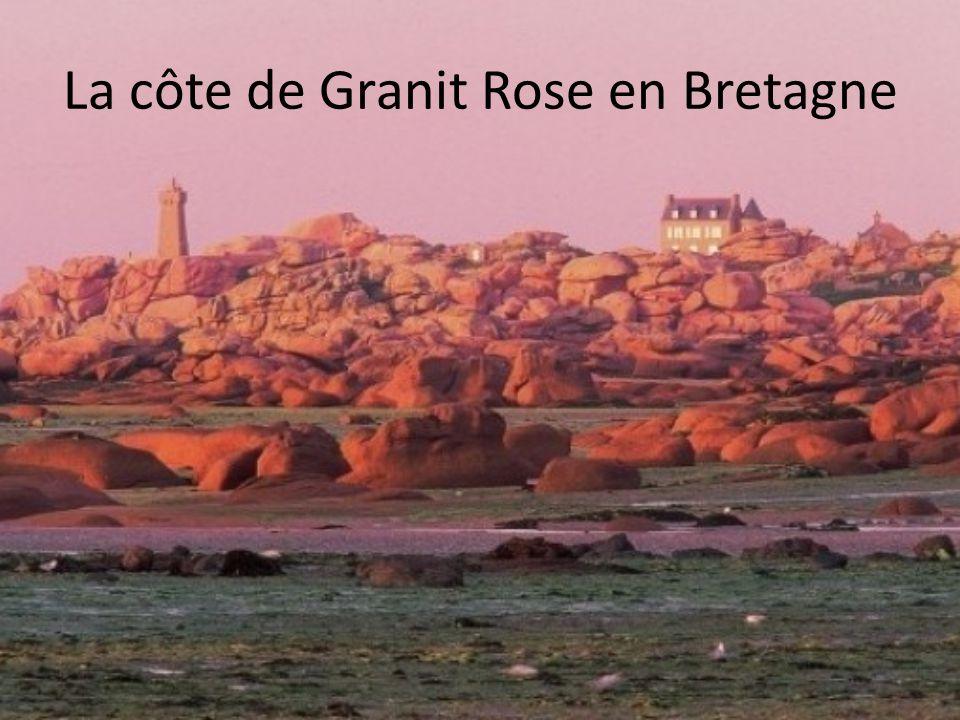 La côte de Granit Rose en Bretagne