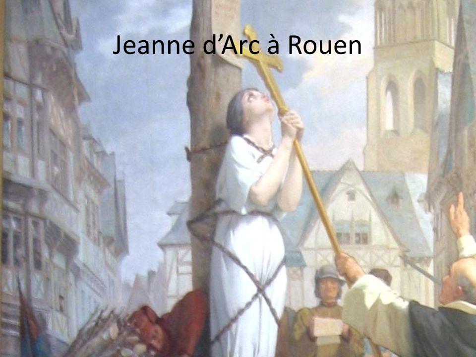 Jeanne d'Arc à Rouen