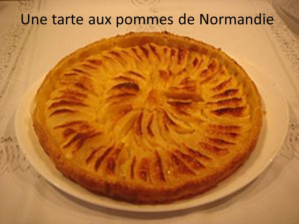 Une tarte aux pommes de Normandie