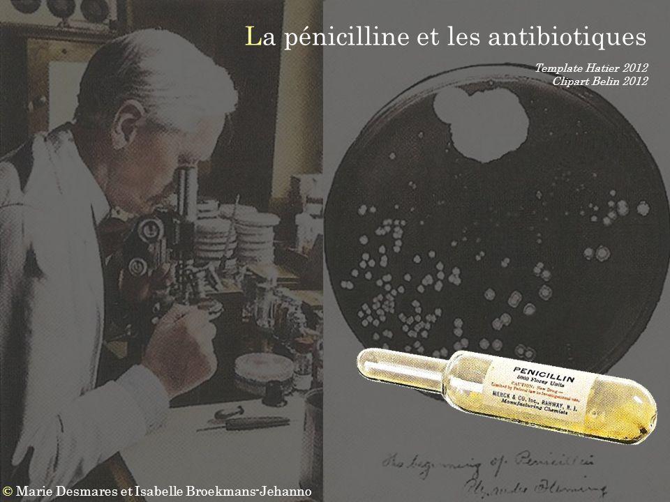 La pénicilline et les antibiotiques
