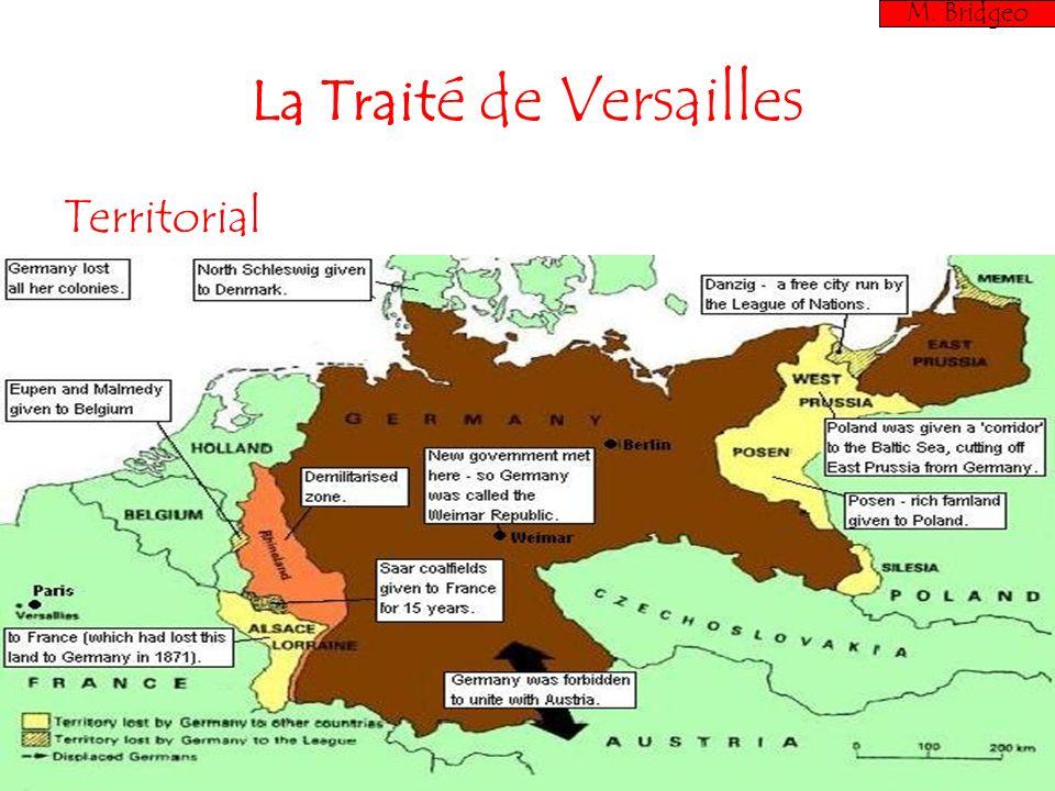 La Traité de Versailles